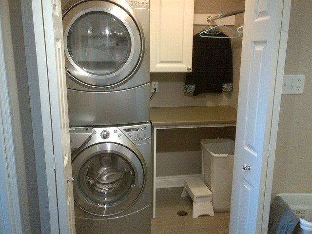 Whitby Master Closet Laundry Traditional Bedroom Toronto By Dmj Construction Renovation