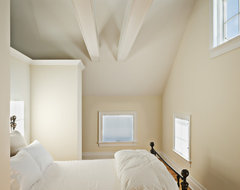 White Guest Bedroom farmhouse-bedroom