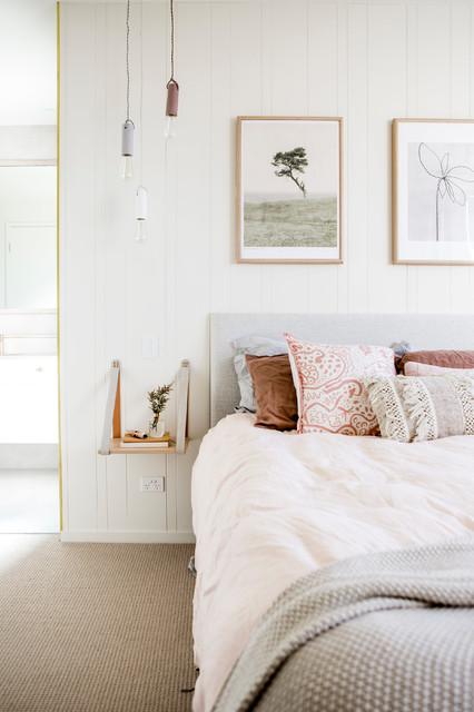 White House- Master Bedroom - Scandinavian - Bedroom ...