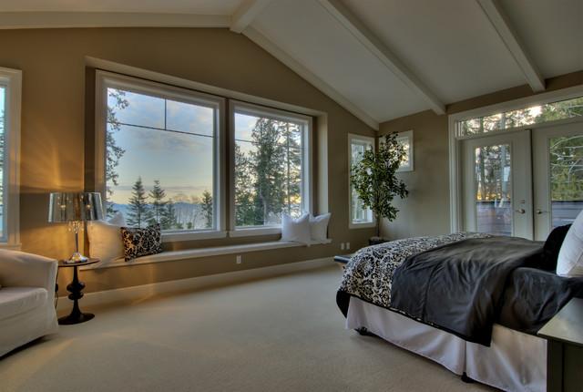 White Rock Home Staging Master Bedroom