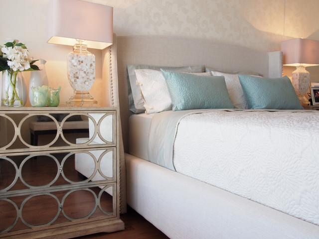 White Rock transitional-bedroom