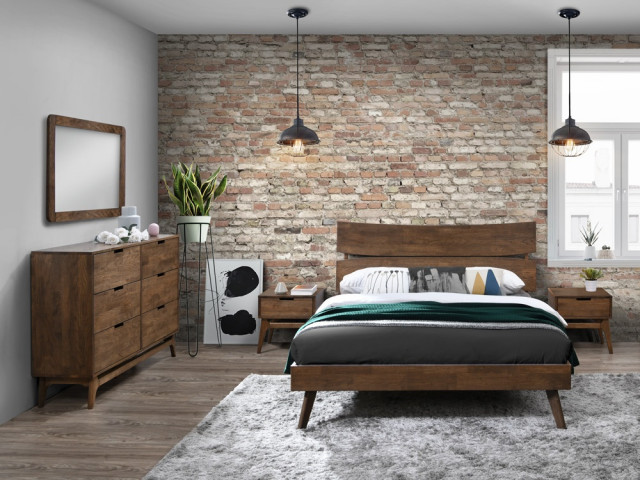 Coco 5pce White Double Bedroom Suite, White Washed Bedroom Furniture Nz