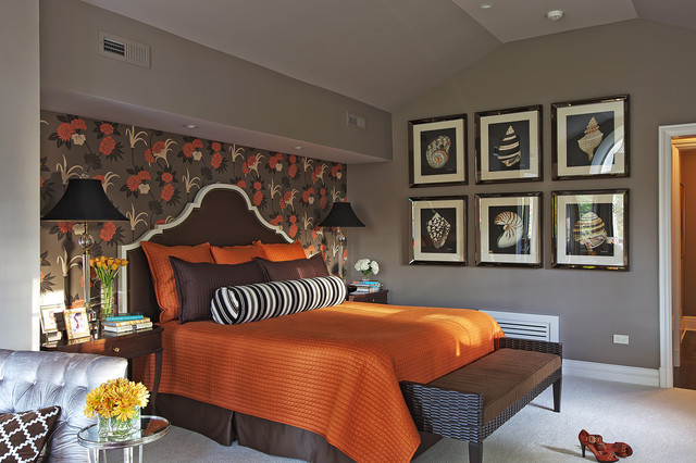 Who Says the Suburbs Aren't Glamorous?! transitional-bedroom