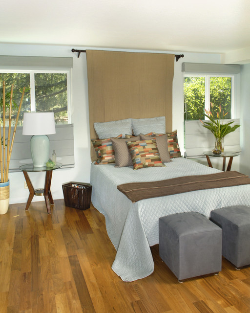 Whole House Green contemporary-bedroom
