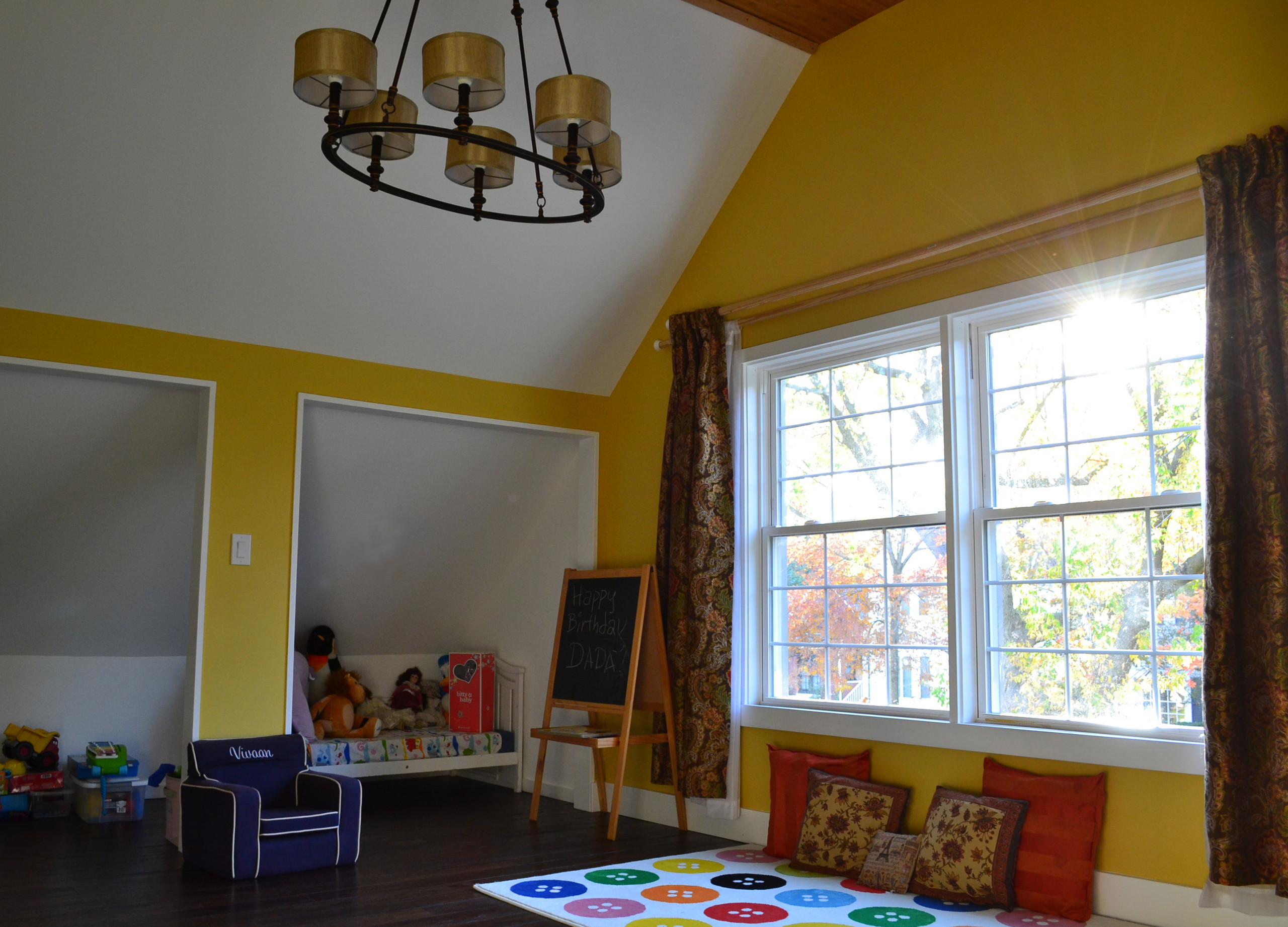 Whole house remodeling and addition - 2nd Floor Playroom