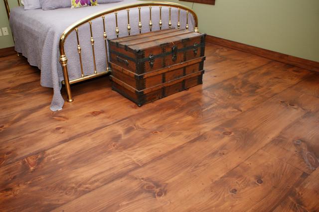 Wide Plank Pine Floors Chepachet Rhode Island Traditional