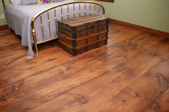 Wide Plank Pine Floors - Chepachet, Rhode Island traditional-bedroom