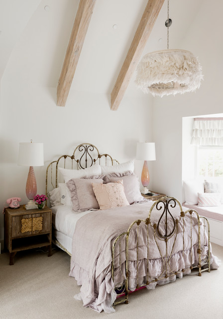 Wilding - Shabby-chic Style - Bedroom - Houston - by Thompson Custom ...