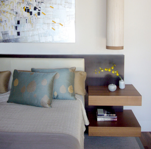 Who makes the floating nightstands - Floating chair for bedroom ...