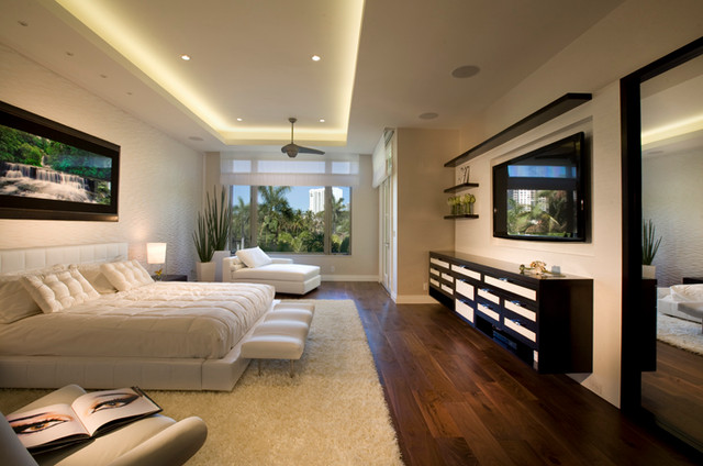 Williams Islan Villa Modern Bedroom Miami By