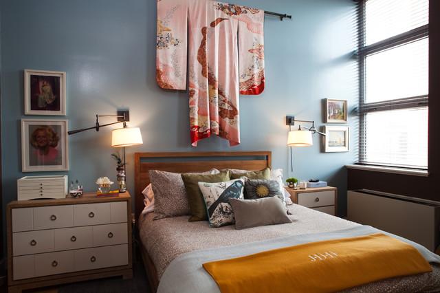 Williamsburg brooklyn loft eclectic bedroom new for Brooklyn bedroom ideas