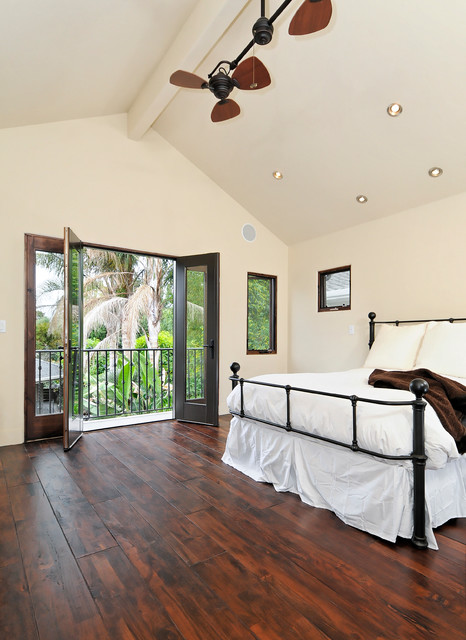 Willow glen spanish style house mediterranean bedroom for Mediterranean master bedroom