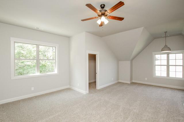 Willson Custom Home Plan Bonus Room Over Garage