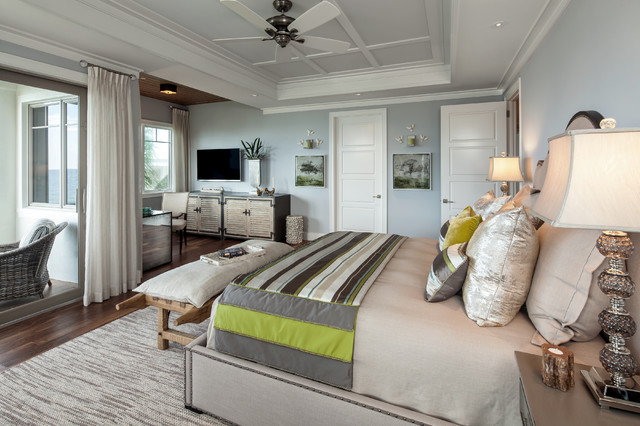 Windover 108 Model at Barefoot Beach contemporary-bedroom