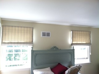 Traditional Roman Blinds by Nest Expressions