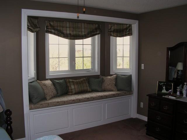 window seat bedroom toronto by bracon