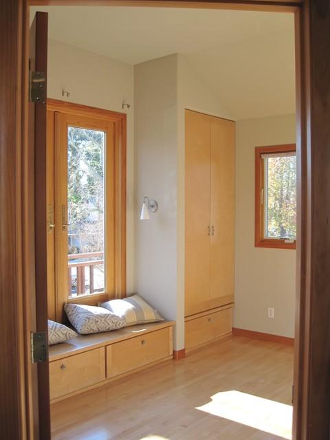 window seat asiatisch schlafzimmer san francisco