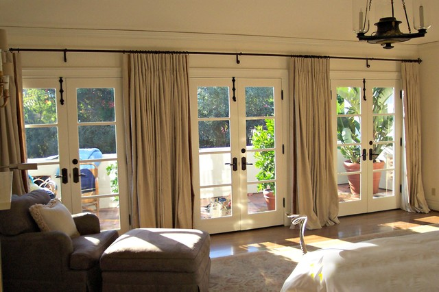 Window Treatments Contemporary Bedroom Los Angeles