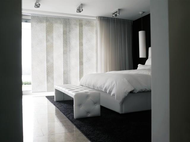 Window Treatments modern-bedroom