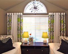 Window Treatments Modern Bedroom modern-bedroom