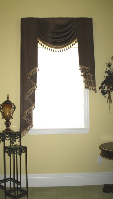 Window Treatments Mediterranean Bedroom Tampa By