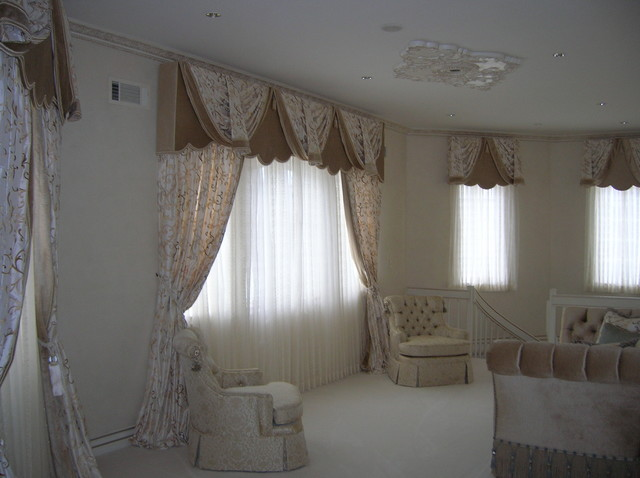 Window Treatments Traditional Bedroom New York By