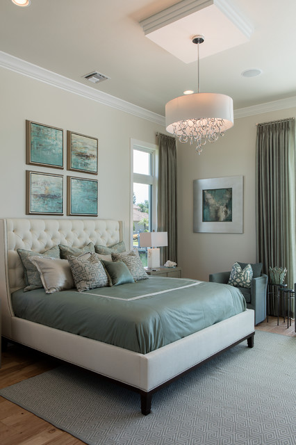 Winterberry Model Master Bedroom Coastal Bedroom