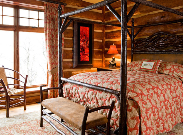 Wintergreen Residence traditional-bedroom