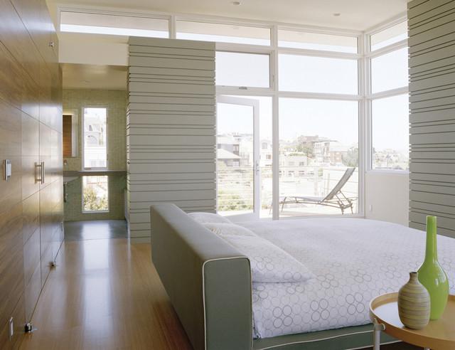 Schwartz and Architecture modern-bedroom