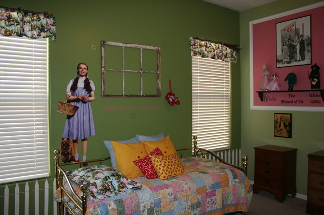 Wizard Of Oz Bedroom Traditional Bedroom Phoenix