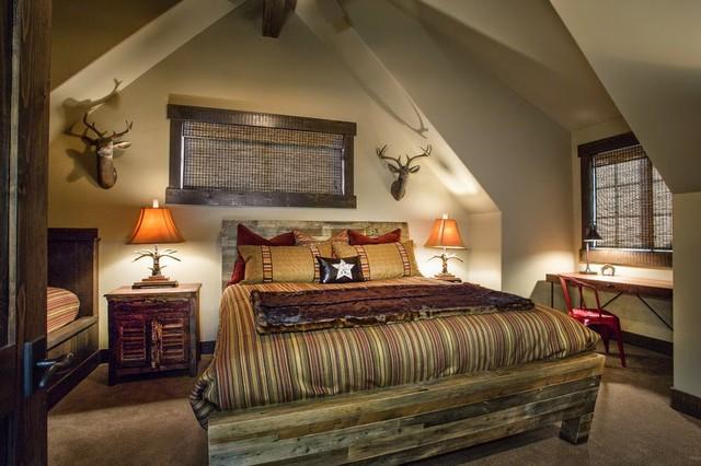 Wolf Creek Ranch Park City Utah Rustic Bedroom Salt Lake City By Poison Creek Furniture
