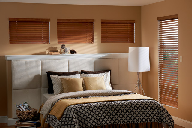 Wood Blinds Traditional Bedroom Phoenix By Grand