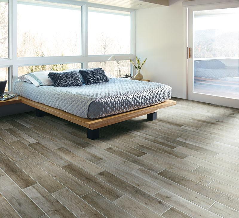 Wood Plank - Rustic - Bedroom - Bridgeport - By Granite, Marble & Tile Design Center