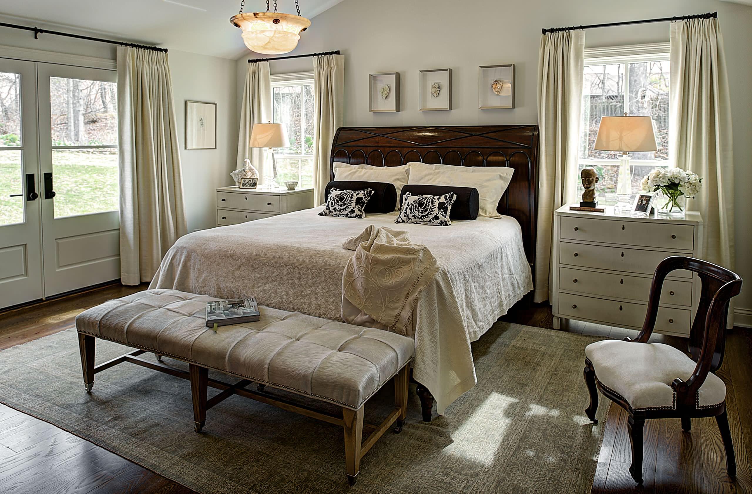Dark Wood Bed Houzz