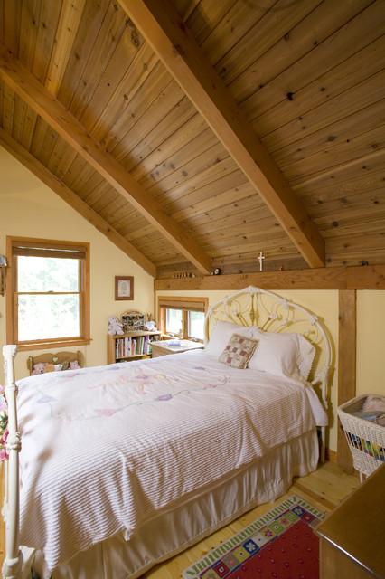 Woodside Cupola Barn Home traditional-bedroom