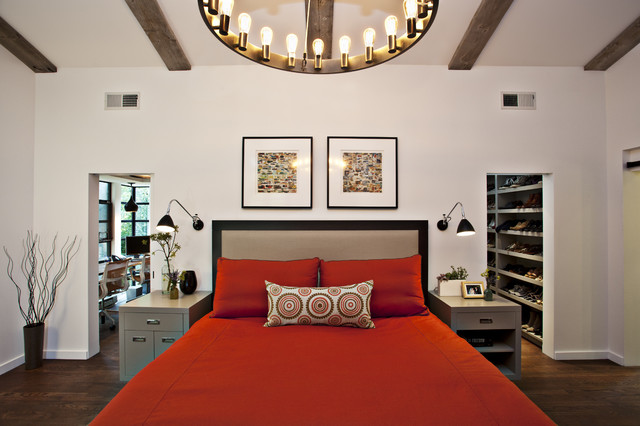 Woodside Residence contemporary bedroom