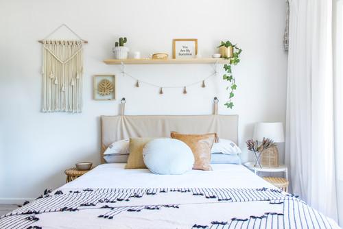 Modern Bedroom Design White Theme