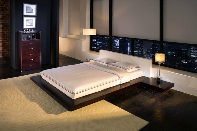 Worth Platform Bed (Modloft) @ Direct Furniture Modern Bedroom