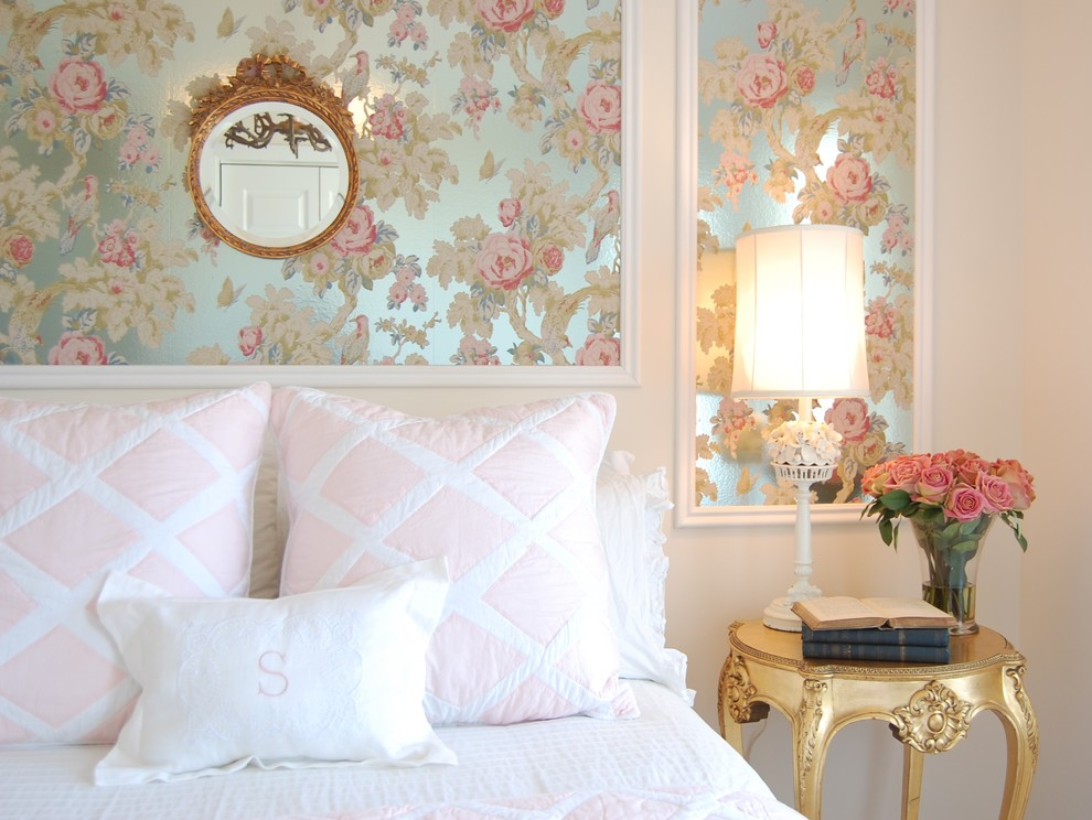 Inspiration for a country bedroom remodel in Other