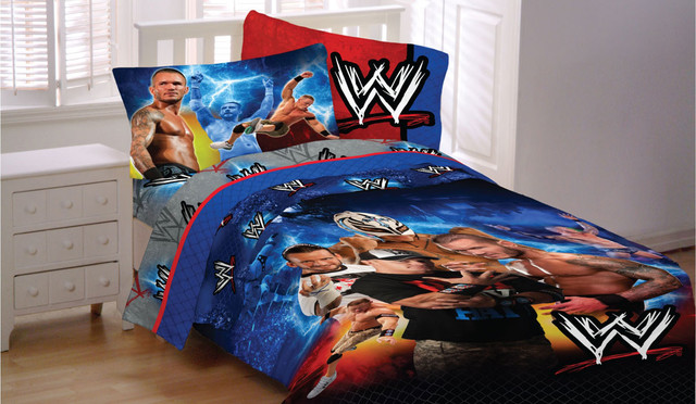 Wwe bedding modern bedroom jacksonville by obedding for Wwe bathroom decor