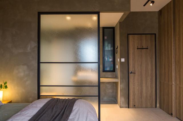 Wylie Court rustic-bedroom
