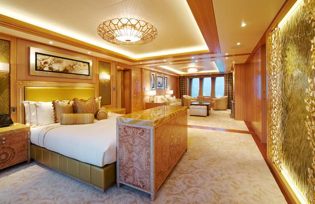 Yacht Interior traditional-bedroom