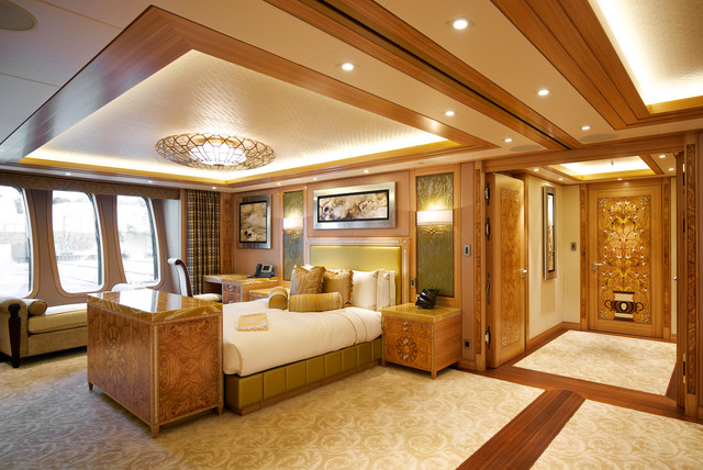 Yacht Interior traditional-  Yacht Bedroom Interiors