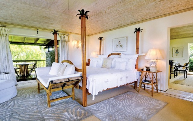 YEMANJA HOUSE | Mustique, St Vincent and the Grenadines tropical-bedroom