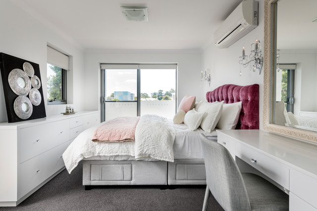 Young Adult Female Bedroom - Contemporary - Bedroom ...