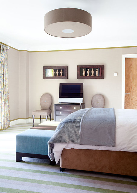Young Family House contemporary-bedroom