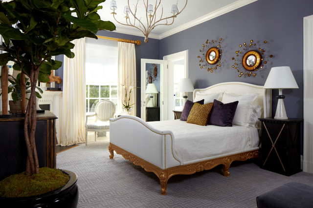 Young Fashionista 39 S Digs Tropical Bedroom New York By Susan Anthony Interiors