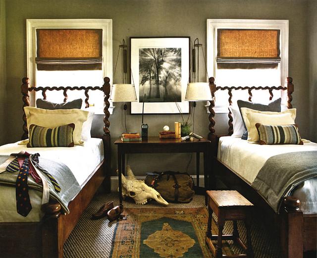 Elegant carpeted bedroom photo in Atlanta