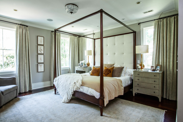 Contemporary Bedroom by Cortney Bishop Design