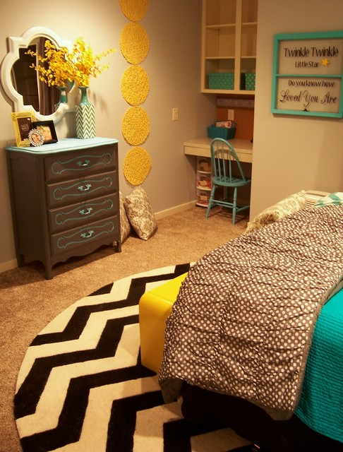 Image Result For Yellow Gray And Aqua Bedroom